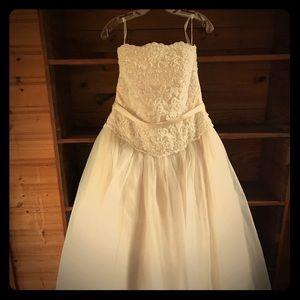 Oleg Cassini for David's Bridal Wedding dress
